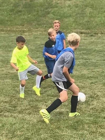 rl boys soccer camp